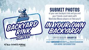 backyard rink contest manitoba moose