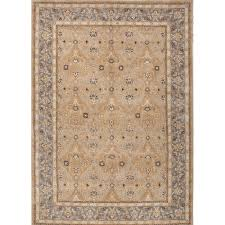 Wool Area Rugs Jaipur Rugs Classic Pattern Taupe Blue Wool Area Rug Pm54