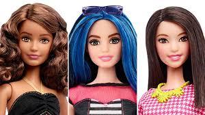 barbie unveils dolls curvy tall petite body types