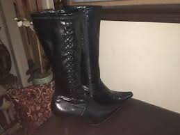 womens black knee high boots size 11 s predictions black knee high boots size 11 ebay