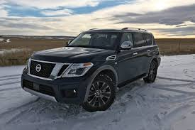 nissan armada 2017 platinum 2017 nissan armada platinum u2013 road test review pickup truck talk