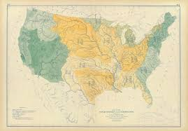 Map Of The United States With Rivers by Historical Maps Of The United States And North America Vivid Maps