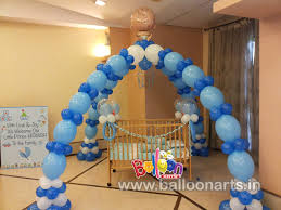Decoration Ideas For Naming Ceremony Balloon Decoration In Mumbai Balloon Decorators In Mumbai