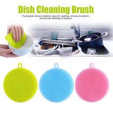eponge cuisine silicone vaisselle éponge ton à récurer cuisine nettoyage
