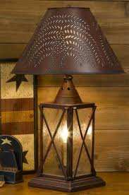 country style table lamps coastal rock lamp beach style table