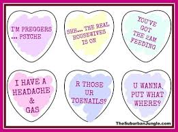 valentines heart candy sayings candy heart sayings the married s edition cafemom