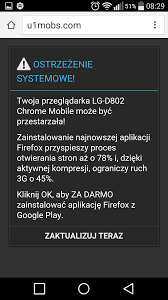 android chrome redirection virus malware adware samsung galaxy