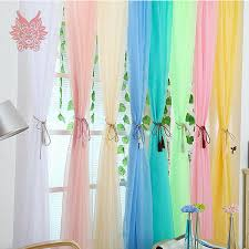 Multi Color Curtains 2015new Fashion Finished Window Screening Living Room Multi Color