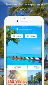 last minute travel deals on the app store