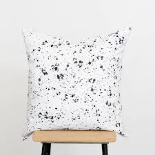 cushion covers for sofa pillows black confetti cushion emodi