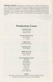 ann arbor civic theatre program bedroom farce may 27 1981 ann