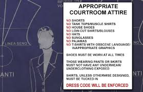 courtroom attire ensuring witness attire makes the right statement