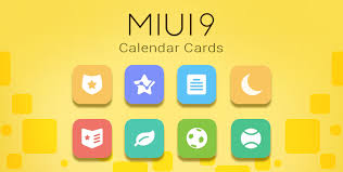 miui 9 calendar cards miui general mi community xiaomi