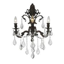 Chandelier Candle Wall Sconce Crystal Wall Sconces U0026 Vanity Lights Shop The Best Deals For Nov
