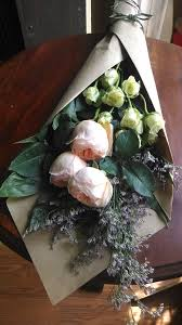 paper wrapped flowers wrapped bouquets
