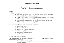 Resume Template Odt Resume Amazing Automatic Resume Creator Online Job Resume Maker