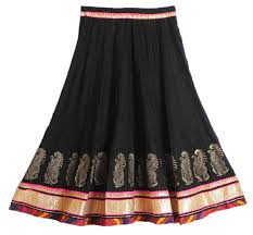 cotton skirts shop online black cotton skirt