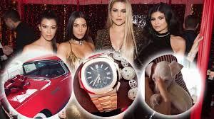 21 ridiculous gifts the kardashians u0026 jenners got for christmas