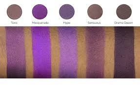 purple shade makeup geek eyeshadow pan drama queen makeup geek