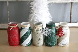 Mason Jar Centerpiece Ideas Mason Jar Decorating Ideas For Christmas Inhabit Blog