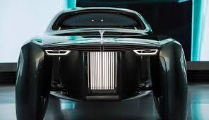 rolls royce vision 100 rolls royce concept uses an ai assistant and projected red