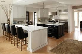 island peninsula kitchen with island and peninsula