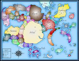Ces Map Naruto World Map By Mcskeleton On Deviantart