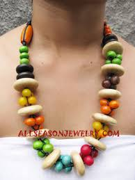 wooden necklaces fashion wooden necklaces beaded seeds indonesia jewelry company