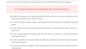 teacher resume objective ideas exles top quality academic writing service need help we work 24 7