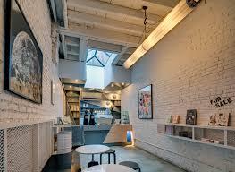 home design stores soho nyc this new york city coffee shop was originally an alleyway contemporist
