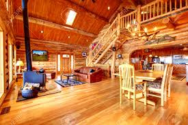 luxury log home interiors awesome log cabin interior decorating images home design ideas