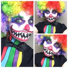 Scary Clown Halloween Costumes 88 Scary Clown Costume Images Scary Clown