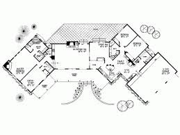 adobe floor plans eplans adobe house plan split bedroom planning 3144 square