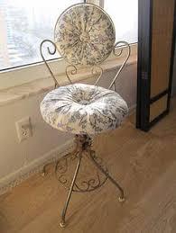 Swivel Vanity Chairs by Vintage Vanity Chair Etsy Ella U0027s Big Birdy Room Pinterest