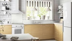 cuisine bouleau cuisine avec faces de tiroir et tiroirs haganäs motif bouleau