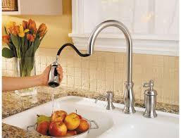 price pfister hanover kitchen faucet pfister gt526 tms hanover single handle pull kitchen faucet