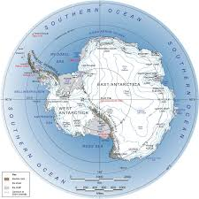 map usa oceans map of southern antarctica and southern map