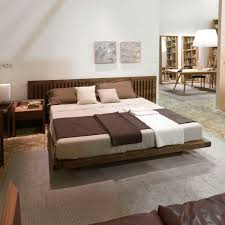 Wooden Headboards For Double Beds by Double Bed Contemporary With Headboard Wooden Soft Riva