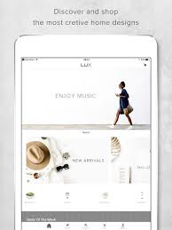 Home Design And Decor App Review Lux Shopping App For Home Decor U0026accents On The App Store