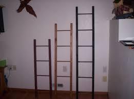 appy 5 ft display u0026 storage ladder quilt ladder blanket