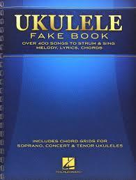 amazon com ukulele fake book full size edition 0888680032395