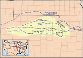 Kansas Rivers images Saline river kansas wikipedia png