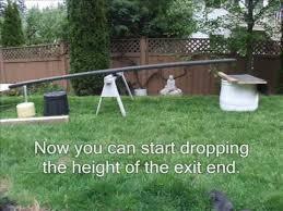 Backyard Agility Course Clicker Training Dog Agility Teeter Totter Youtube