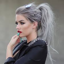 grey streaks in hair 10 awesome silver hair colors ideas makeup tutorials