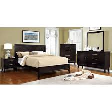 Furniture Of America Bedroom Sets Snyder Queen Bed In Espresso Cm7792ex Q