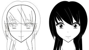 tutorial vektor dengan corel cara membuat wajah anime atau manga dengan coreldraw keripik citul