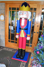 yes you can make this nutcracker that stands over 6 feet tall