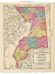 Map Of Maryland State by 1873 Atlas Of Maryland County Maps