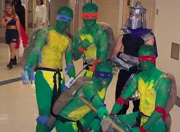 Ninja Turtle Halloween Costume Girls Creative Costumes Kids Adventure Jake Shield