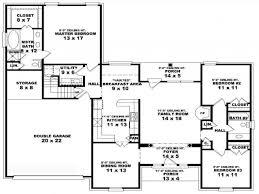 79 interesting 2 bedroom bath house plans home design house floor